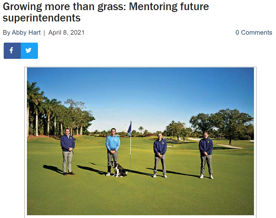 Golfdom article - Golf Course Superintendents