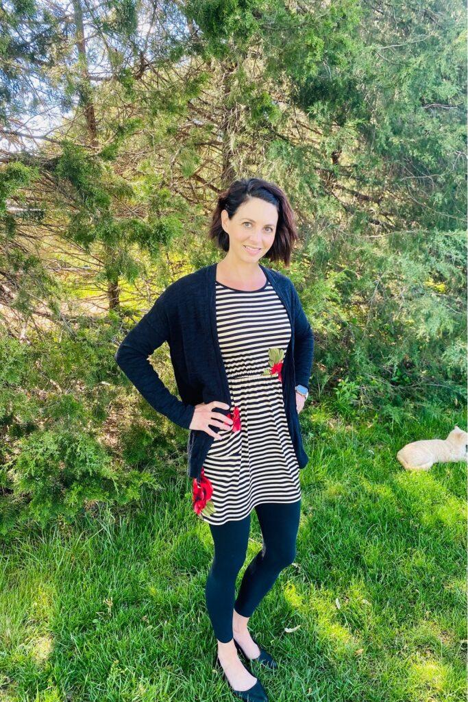 workwear striped summer dress 1