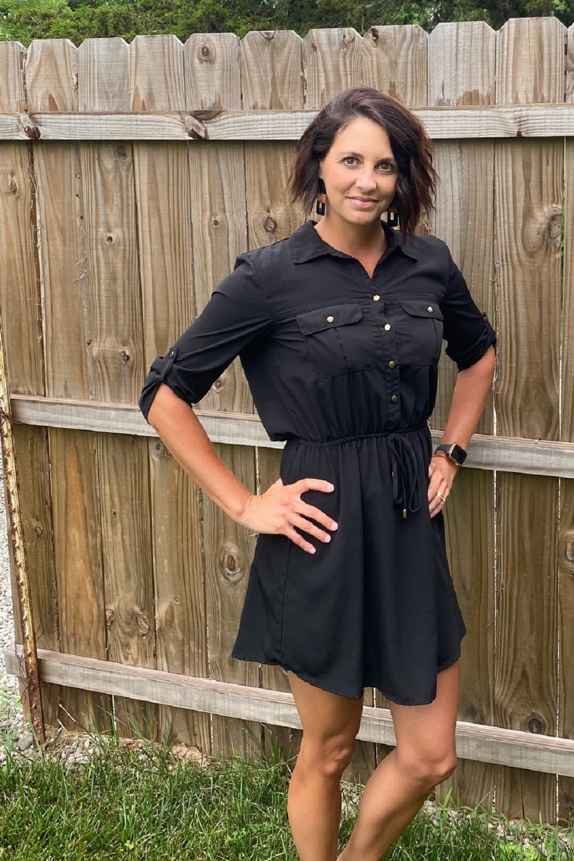 Workwear Wednesday black dress
