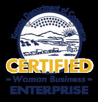 Kansas Woman Owned Business Logo
